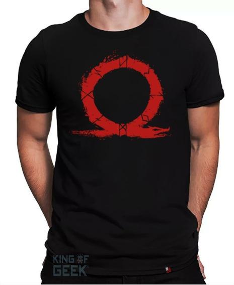 Camiseta God Of War Kratos Camisa Gaia Artemis Game Geek