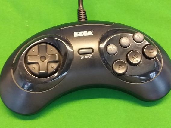Mega Drive 3 Controle Original De 6 Botões Tectoy