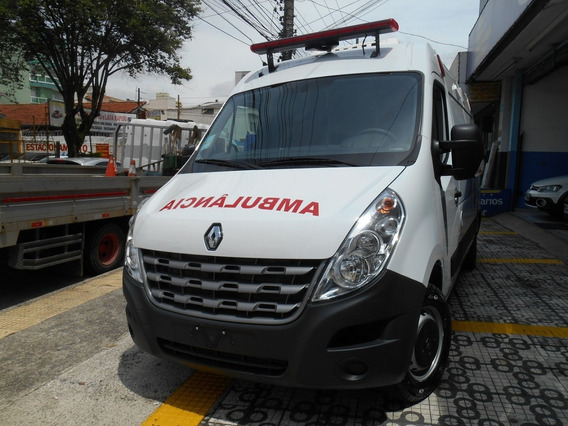 Renault Master Furgão L2h2 Ambulância Uti Okm 2020