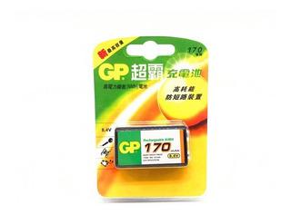 Batería Pila Recargable Gp 9v 170 Mah Sellado Nuevo