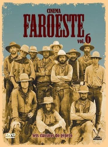 Dvd Cinema Faroeste Vol. 6 - Triplo, 6 Filmes. Leg. Lacrado