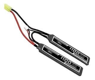 Bateria Lipo 7.4v2s-(2pack)1100mah Airsoft Nautika