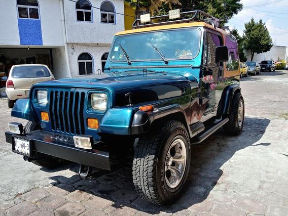 Jeep Wrangler 4x4 Estandar 6 Cilindros Llantas Nuevas P/c