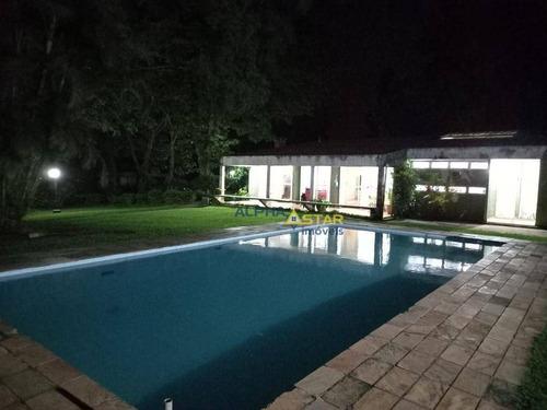 Imagem 1 de 21 de Chácara Com 5 Dormitórios À Venda, 6000 M² Por R$ 1.500.000 - Vila Darcy Penteado (mailasqui) - São Roque/sp - Ch0031