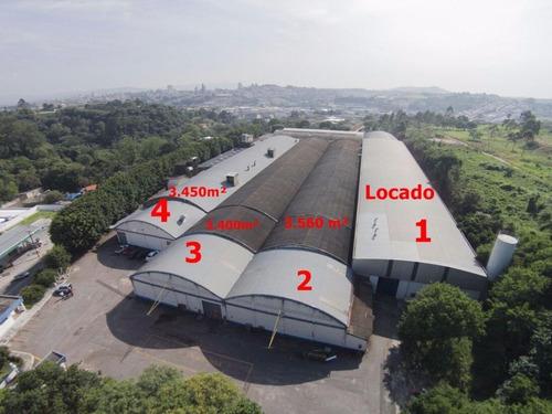 Galpão Industrial - Núcleo Residencial Doutor Luiz De Mattos Pimenta - Ga0127