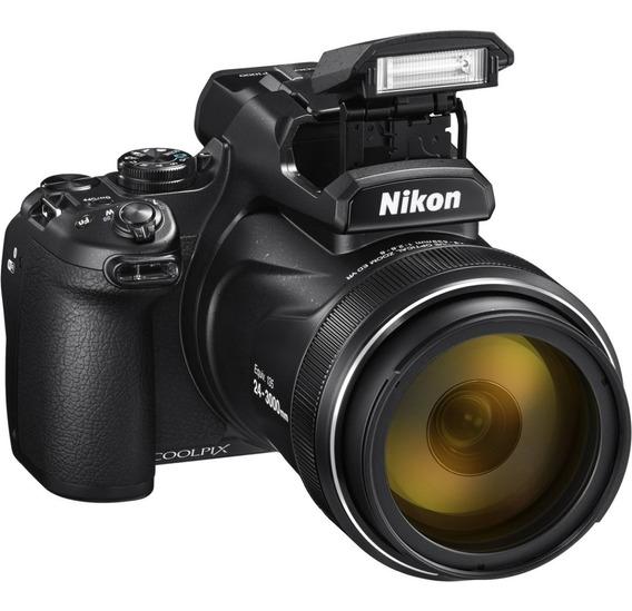Nikon Coolpix P1000 16mp 125x 4k Sup P900 Gps Wifi Potente