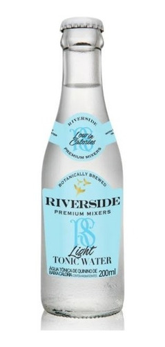 Água Tônica Riverside Light 200ml