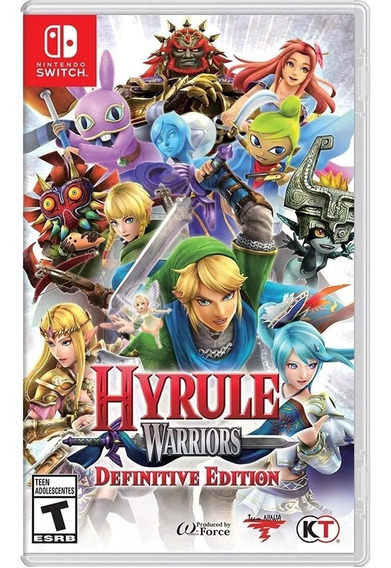Hyrule Warriors: Definitive Edition Switch Mídia Física