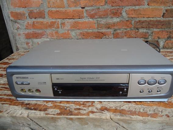 Video Cassete Mitisubishi Hv-fm5 Para Conserto Ou Pecas
