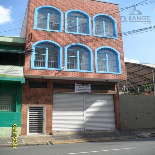 Prédio Comercial Para Locação, Centro, Campinas. - Pr0314