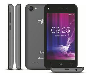 Smartphone Qbex Joy 8gb Dual Chip Desbloqueado Cinza