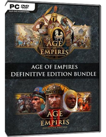 Age Of Empires 1 E 2 Definitive Edition Pc Dvd Frete 10 R$