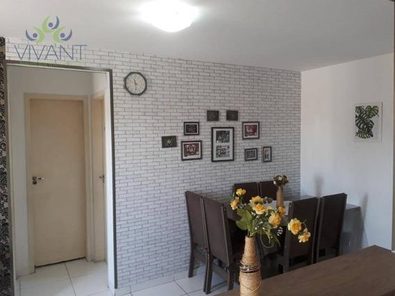 Apartamento Com 2 Dormitórios À Venda, 47 M² Por R$ 170.000,00 - Vila Urupês - Suzano/sp - Ap0308