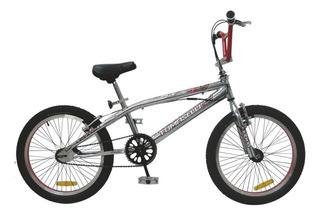 Bicicleta Nino Tomaselli Freestyle Xt5 Cromada Rodado 20