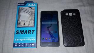 Celular Samsung Gram Prime Duos + Acessórios - Detalhe Leia.