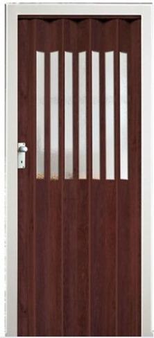 Imagen 1 de 1 de Puerta Plegable Caoba 90x200 Cerradura Metálica