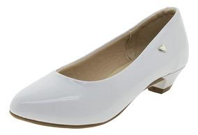 Sapato Infantil Feminino Branco Molekinha - 2166416