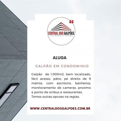 Galpão Para Locação Em Cascavel - Cdg04_2-1163207