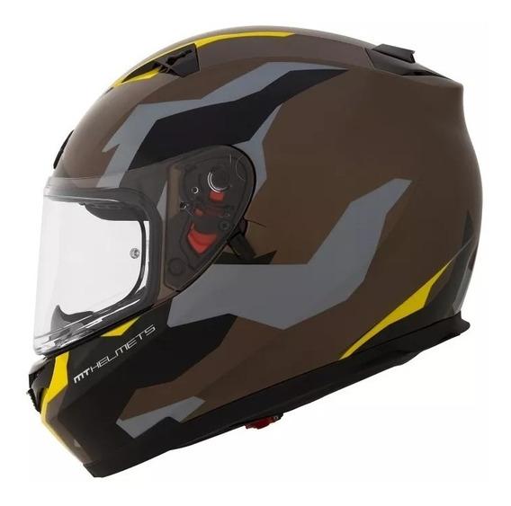 Casco Integral D/visor Blade Mt Helmet. En Brm!!