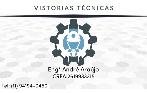 Engenheiro Mecânico Sp E Região P/ Laudo Técnico E Art