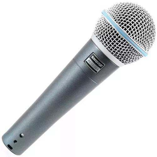 Microfone Profissional Dinâmico Shure Beta58a Sm58 Mexico