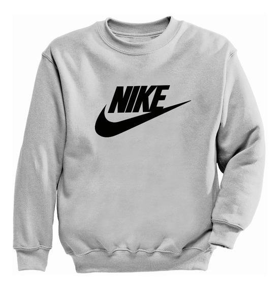 Sudadera Sin Gorro Crewneck Nike Varios Colores Envio Gratis