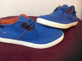 Zapatos Americanino Azul Rey