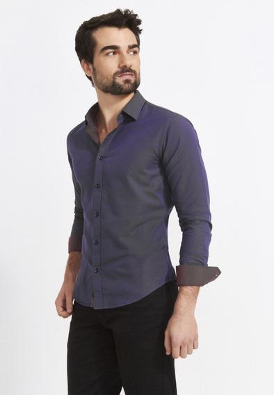 Camisa Slim Zafferano