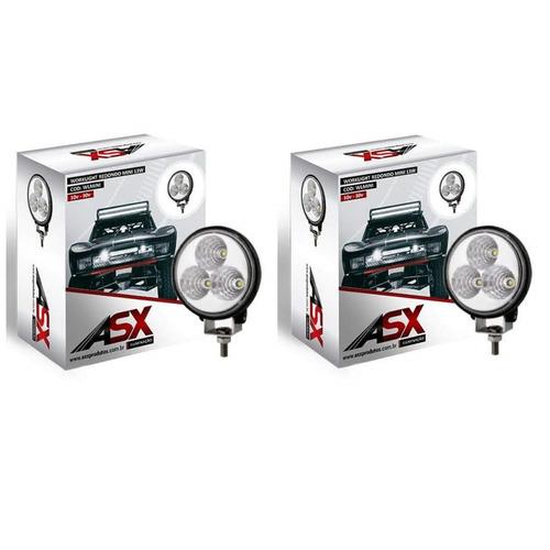 Farol De Led Asx Mini Universal 26w 12/24v 13w Work Light