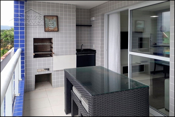 Apartamento Para Alugar Com 3 Dormitórios (1 Suíte) No Cantão Do Indaiá Em Bertioga - Ap00203 - 33812987