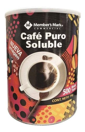 Café Soluble Member's Mark 1 Kg