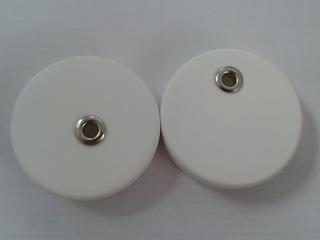 Tapas Blancas Plasticas Con Hueco Para Pitillo Frasco Mason