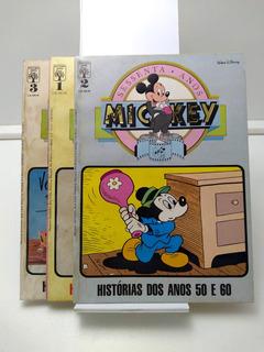 Mickey Sessenta 60 Anos Nº 1, 2 E 3 - Abril - 1988