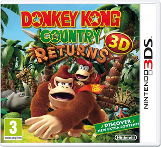 Donkey Kong Country Returns Nintendo 3ds Gcp