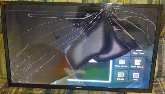 Samsung 32 Smart Hg32nd450sg Para Tirar Peças Ou Reparo