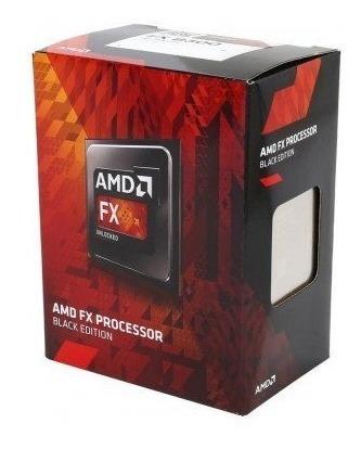 Processador Amd Fx 8300 Black,cache 16mb, 3.3ghz, Am3+ Usado