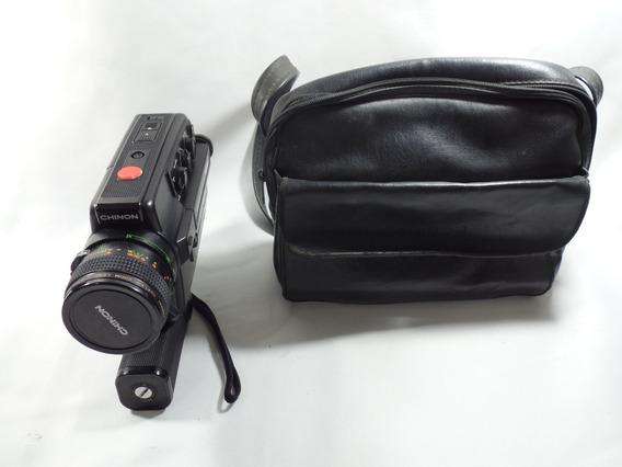 Camera Chinon - 60 Sm Xl - Funcionando - Super 8 - Com Case