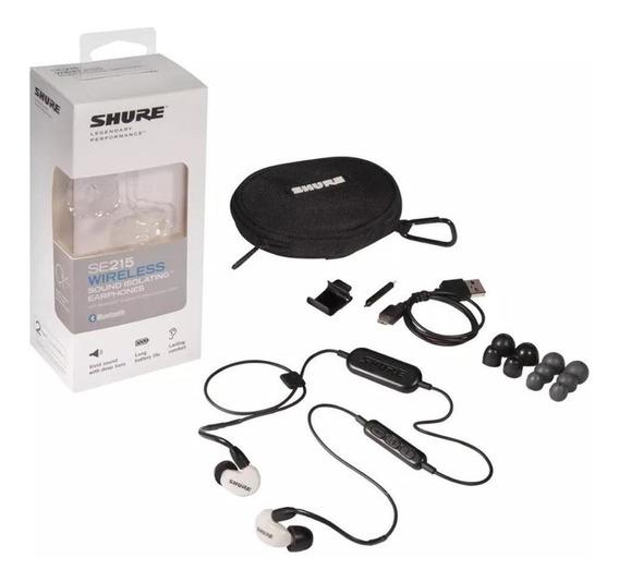Fone De Ouvido Shure Intra Bluetooth Se215spe Wbt1 Branco