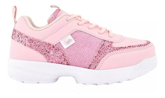 Zapatillas Footy Glitter Cool Pink Ultraliviana Fty Calzados