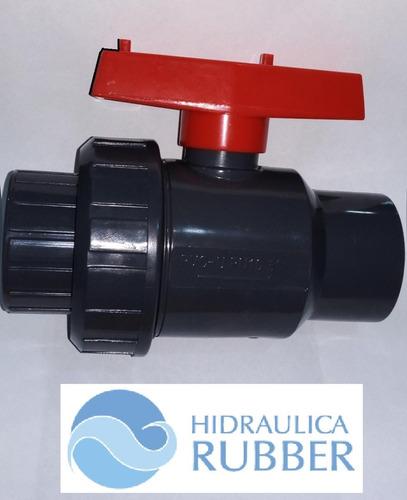 Imagen 1 de 7 de Válvula Uniblock Vasser D50 X10 Unidades Hidráulica Rubber