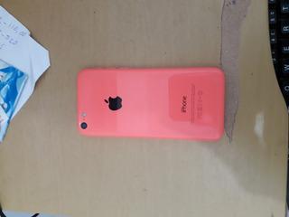 Carcaça iPhone 5c Rosa Com Todos Os Flex
