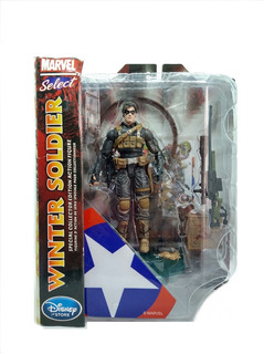 Marvel Select Winter Soldier Figura 7 Diamond Select
