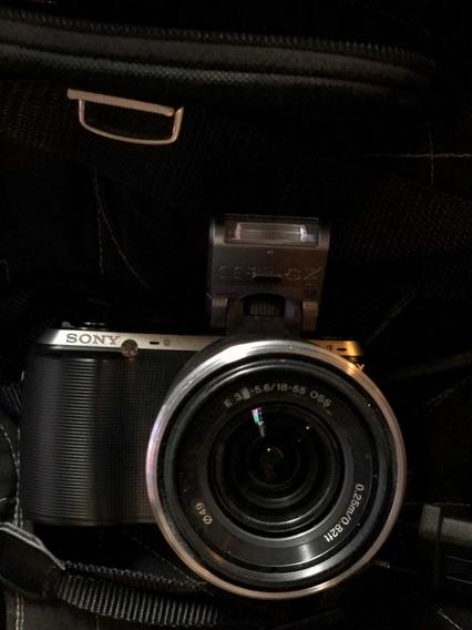 Câmera Sony Nex-c3 16.2 Mp Hd Com Bag