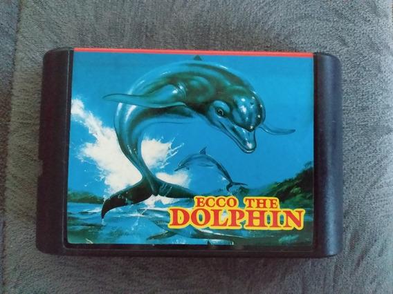 Cartucho Mega Drive - Ecco The Dolphin - Paralelo