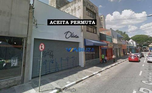 Galpão À Venda, 250 M² Por R$ 2.000.000,00 - Centro - Guarulhos/sp - Ga0080