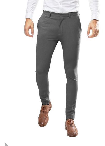 Pantalón Slim Fit Casual Lims