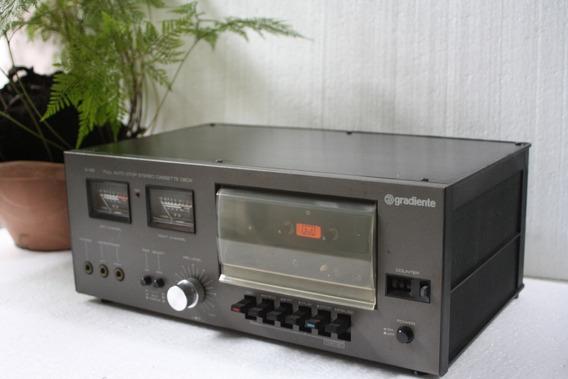 Tape Deck Gradiente S-95 Stereo Cassete Deck Funciona Tudo.