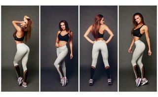 Conjunto Top Y Legging Nike La Bella Mafia Under Armour