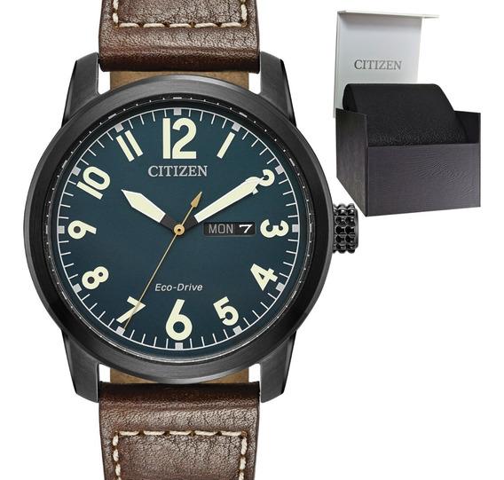 Reloj Hombre Citizen Bm8478-01l Ecodrive Acero Pavonado