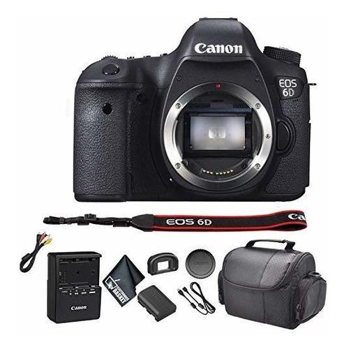 Canon Eo 6d Dslr Kit Camara Estuche Transporte Modelo